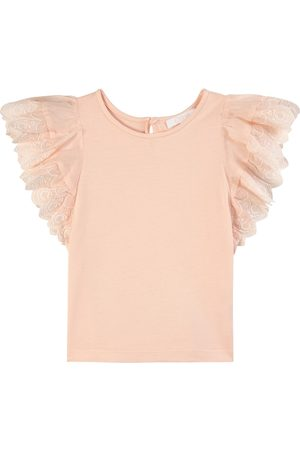 Chloé Kids - Ruffle Top - Girl - 2 years - - Tanks and vests