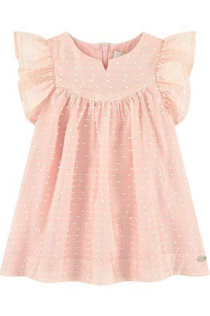 Tartine Et Chocolat Pink Taffeta Dress - Girl - 3 Months - - Casual dresses
