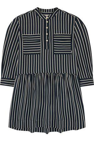 Molo Stripe print shirt dress - Girl - 3-4 Years - - Casual dresses