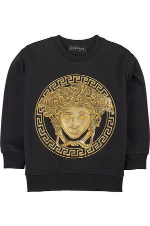VERSACE Kids Sale - Medusa Sweatshirt - Boy - 4 years - - Sweatshirts