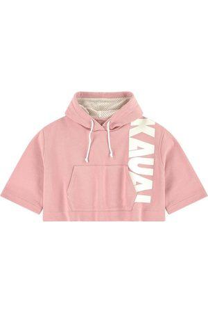 Il gufo Hoodies - Sale - Pink Crop Hoodie - Unisex - 4 Years - - Sweatshirts