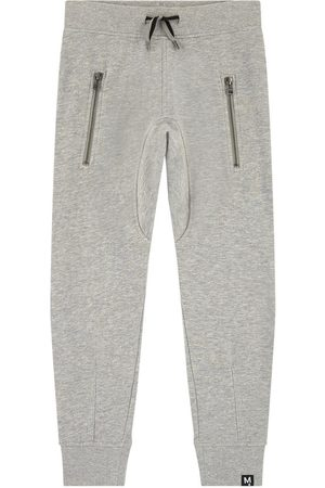 Molo Boys Sweatpants - Sale - Heather- Ashton Sweatpants - Boy - 3 Years - Grey - Sweatpants