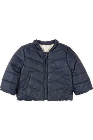 IKKS Girls Puffer Jackets - Kids - Reversible Puffer Jacket Navy - Girl - 6 months - Navy - Quilted and liddesdale jackets