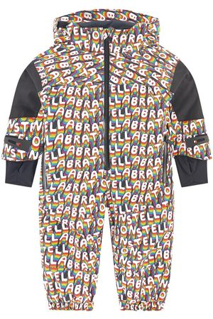 Stella McCartney Kids Sale - Print fleece-lined ski suit - Stellabration - Girl - 12 months - - Snowsuits and bunting