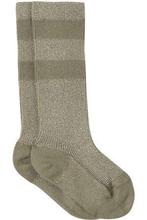 Collegien Kids - Sauge Claire Varsity Crew Socks - Girl - 21-23 (1-2 Years) - - Socks