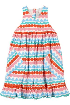 Stella McCartney Girls Casual Dresses - Kids Sale - Striped Dress White - Girl - 2 years - - Casual dresses