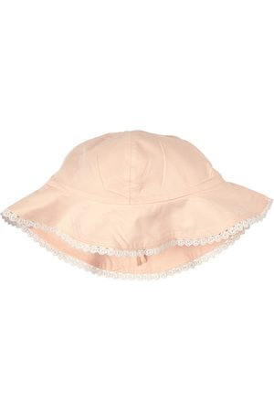 Chloé Kids - Embroidered Logo Sun Hat - Girl - 44 (6 months) - - Sun hats