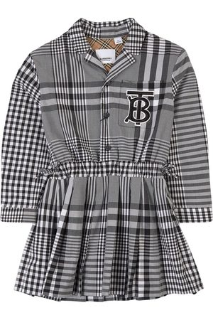 Burberry Kids - Freja Checked Dress - Girl - 3 years - - Casual dresses