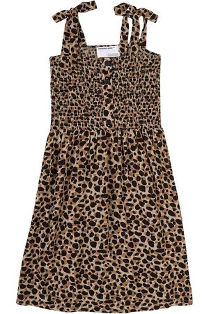 Designers Remix Sale - Mini Camouflage Eliza Strap Dress - Girl - 8 Years - - Casual dresses