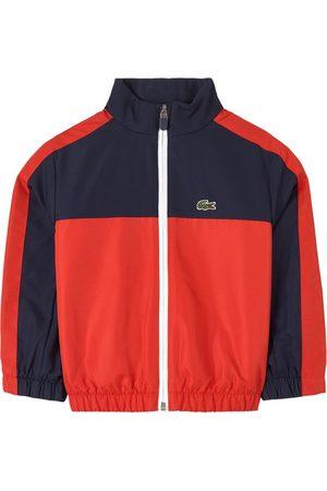 Lacoste Kids - Navy Colour Block Logo Track Jacket - Boy - 4 years - Navy - Track jackets