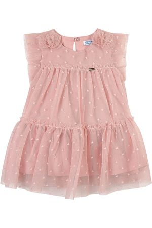Mayoral Girls Casual Dresses - Tulle Frill Dress - Girl - 6 months - - Casual dresses