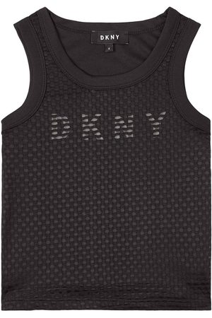 DKNY Kids Sale - Logo Vest - Girl - 4 years - - Tanks and vests
