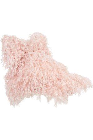 CAROLINE BOSMANS Caps - Pink Feathers Cap - Unisex - 8-16 Years
