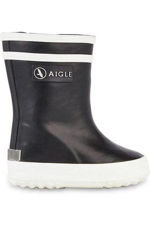 Aigle Kids - Navy fur-lined rain boots - Baby Flac Fur - Unisex - 19 EU - - Crib trainers