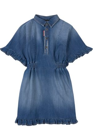 Dsquared2 Girls Casual Dresses - Kids Sale - Denim Dress - Girl - 8 years - - Casual dresses