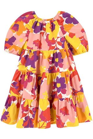 Il gufo Girls Casual Dresses - Floral Dress Multicolor - Girl - 4 Years - - Casual dresses