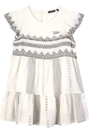 IKKS Kids - Embroidered Dress Ecru - Girl - 3 years - - Casual dresses