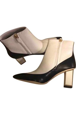 Diane von Furstenberg Women Ankle Boots - \N Leather Ankle boots for Women