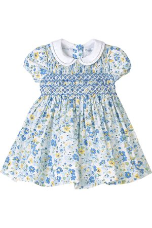 Ralph Lauren Kids Sale - Multi Floral Smocked Dress - Girl - 3 months - - Casual dresses