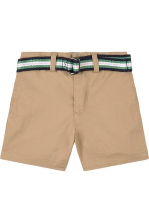 Ralph Lauren Boys Polo Shirts - Kids Sale - Khaki Polo Chino Shorts - Boy - 6 months - - Chino shorts