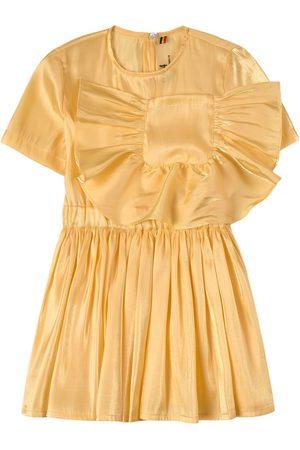 CAROLINE BOSMANS Glimmer Pocket Dress - Girl - 4 Years - - Casual dresses