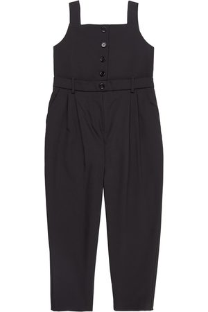 Dolce & Gabbana Girls Jumpsuits - Kids Sale - Button Jumpsuit - Girl - 6 years - - Dungarees