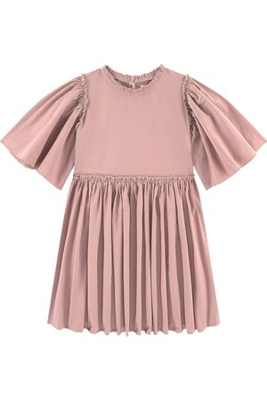CHRISTINA ROHDE Satin dress - Unisex - 4 Years - - Special occasion dresses
