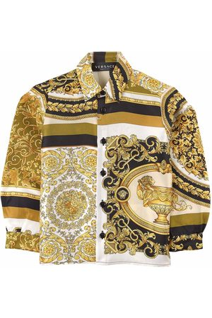 VERSACE Kids Sale - Baroque Shirt - Boy - 4 years - - Shirts