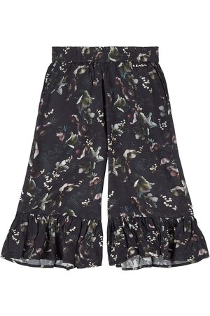 Molo Girls Capris - Sale - Moonlight Garden Anis Pants - Girl - 4 Years - - Cropped trousers and capris