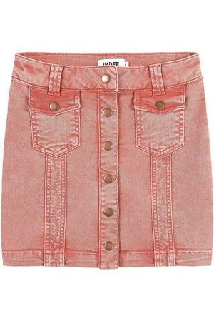 Indee Girls Denim Skirts - Sale - Terra Cotta Denim Skirt - Girl - 8 Years - - Denim skirts