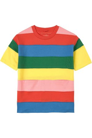 Stella McCartney Kids Sale - Multicolor Striped Jersey Dress - Girl - 2 years - - Casual dresses