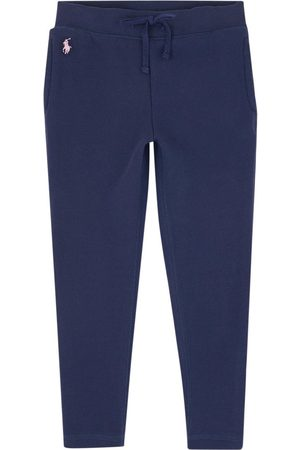 Ralph Lauren Kids - Fleece sports leggings - Girl - 2 years - Navy - Sweatpants
