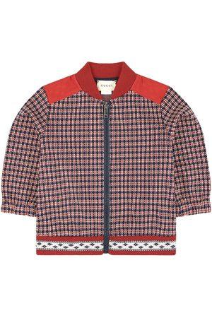 Gucci Boys Bomber Jackets - Kids - Mini Me zip sweatshirt - Boy - 12-18 months - - Bomber jackets