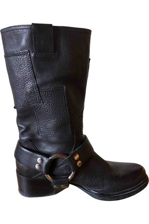 Miu Miu \N Leather Ankle boots for Women