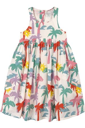 Stella McCartney Girls Casual Dresses - Kids - Multi Palms Print Dress - Girl - 2 years - - Casual dresses