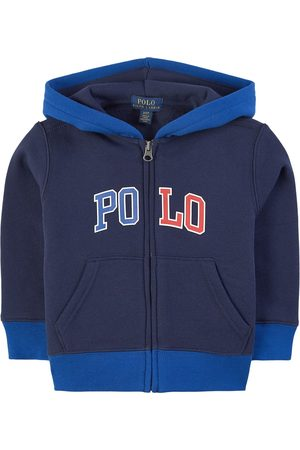 Ralph Lauren Boys Hoodies - Kids Sale - Navy Newport Full Zip Hoodie - Boy - 2 years - Navy - Hoodies