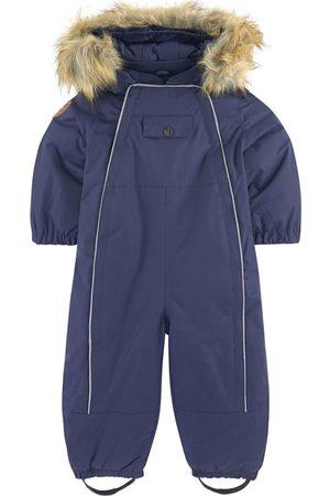 Kuling Fleece-lined ski suit - Val D'Isere Snowsuit Classic - Unisex - 80 cm - Navy - Winter coveralls