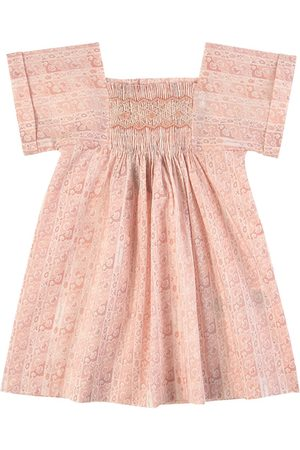 BONPOINT Girls Casual Dresses - Smock Dress - Girl - 12 months - - Casual dresses