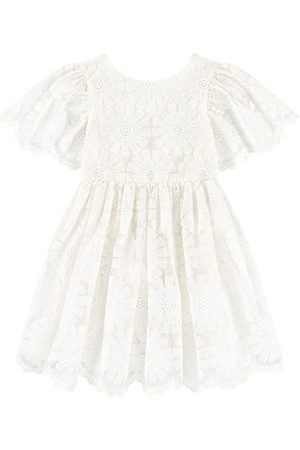 Tartine Et Chocolat Girls Printed Dresses - Floral Dress White - Girl - 3 Years - - Party dresses