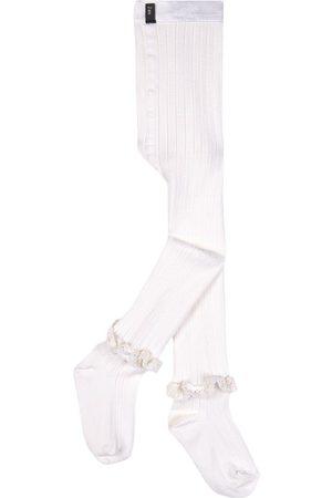 Collegien Girls Stockings - Kids - Blanc Neige Chloé Tights - Girl - 2 Years - - Tights