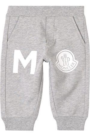 Moncler Sweatpants - Kids - Grey Branded Sweatpants - Unisex - 6-9 months - Grey - Sweatpants