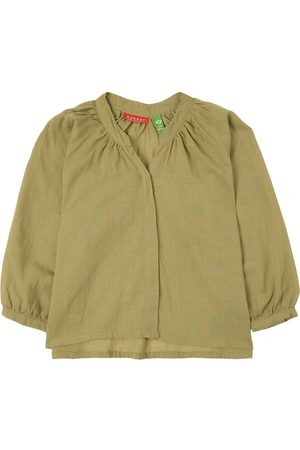 Bakker made with love Sale - Light Anis Top - Girl - 4 years - - Blouses