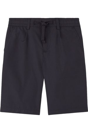 Dolce & Gabbana Boys Bermudas - Kids - Navy Bermuda Shorts - Boy - 4 years - Navy - Cropped trousers and capris