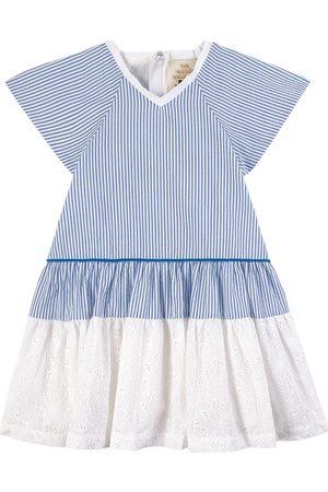 THE MIDDLE DAUGHTER Inner Circle Cotton Seersucker Dress Seersucker - Girl - 2 Years - - Party dresses