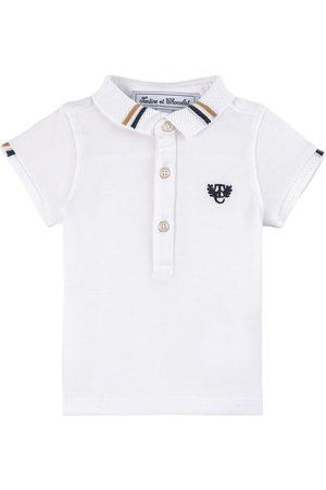 Tartine Et Chocolat White Logo Polo Shirt - Unisex - 3 Months - - Polos