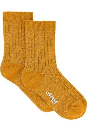 Collegien Kids - Pair of cotton socks with lurex - Unisex - 24/27 (UK 7/9 - US 8/10) - - Socks