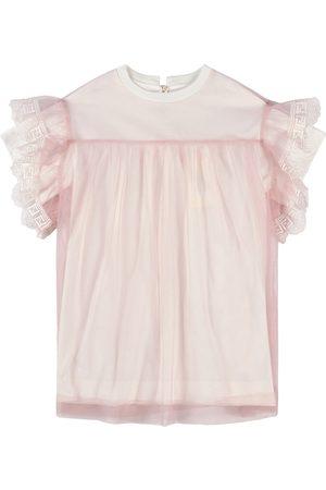Fendi Girls Casual Dresses - Kids - ABITO FEM TULLE+JERSEY - Girl - 4 years - - Casual dresses