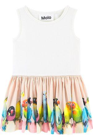 Molo Girls Dresses - Mini Love Birds Cordelia Dress - Girl - 9 Months - - Party dresses