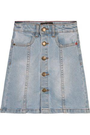 Molo Girls Denim Skirts - Summer Tint Britney Denim Skirt - Girl - 3-4 Years - - Denim skirts
