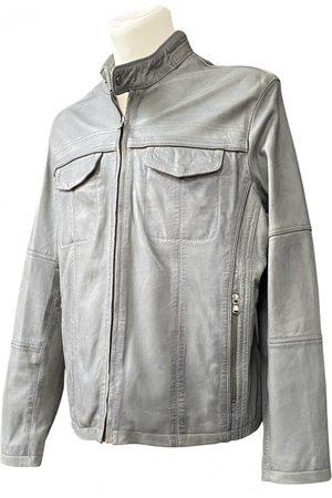 Emanuel Ungaro \N Leather Jacket for Men